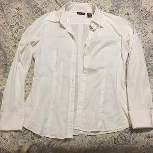 NY&CO White Button-Up